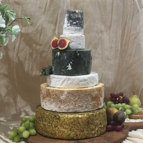 Amelie cheese wedding cake, 8.7kg cheese tower for 90 - 170 people